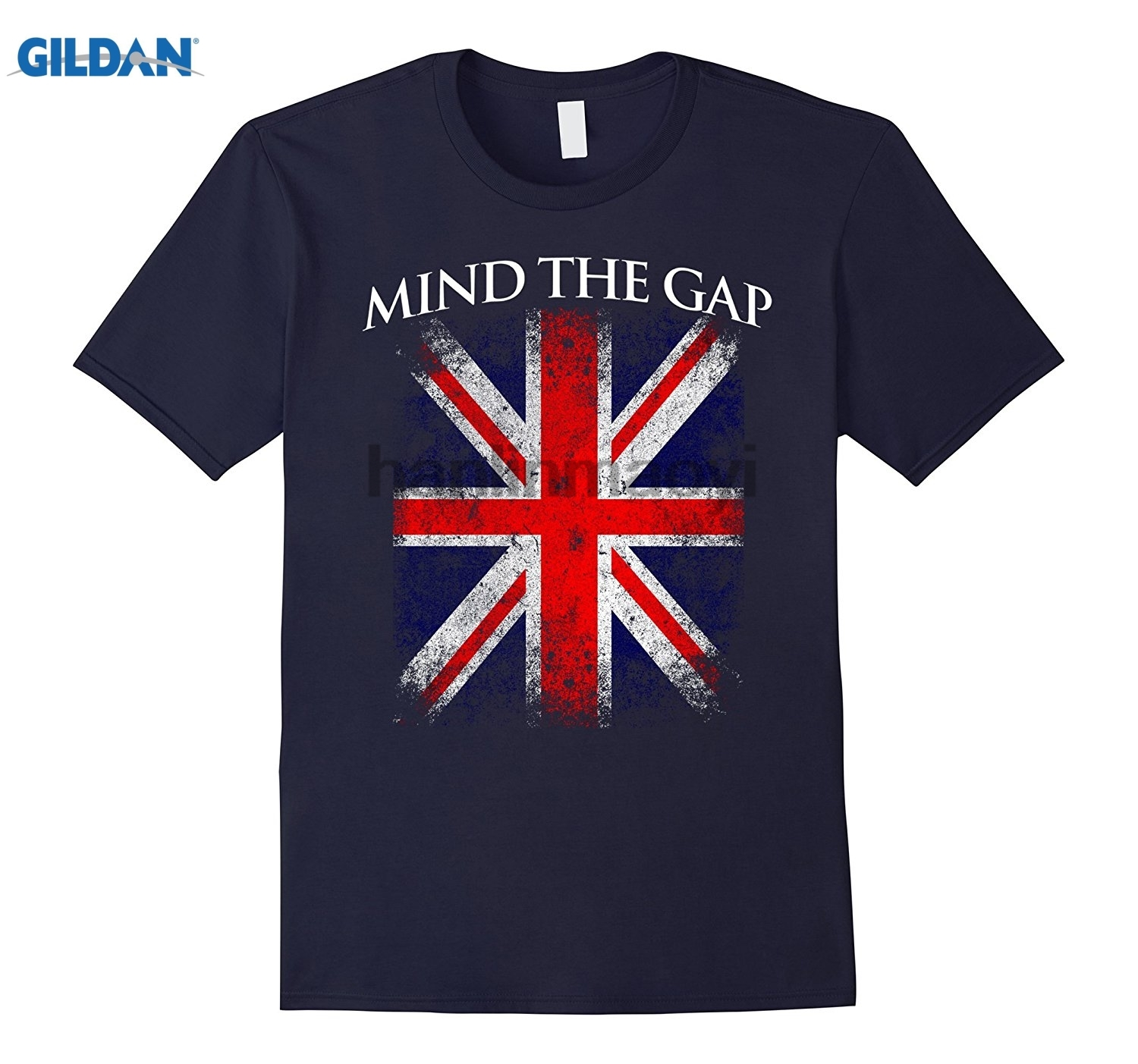 Mind The London Underground British Flag Vintage T-Shirt